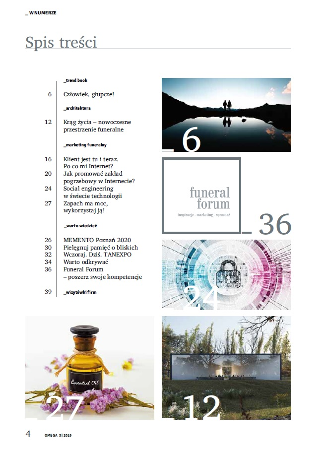 Current issue - OMEGA Magazine Idea Book for funeral industry